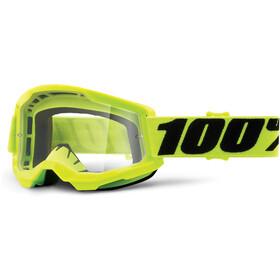 100% Strata Anti-Fog Goggles Gen2, żółty